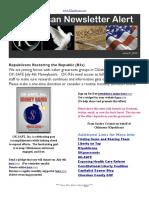 R3publican Newsletter Alert (June 2013) -- OKSAFE July 4th Moneybomb
