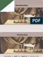 Benchmarking - Technique