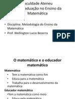 Ensino Da Matematica
