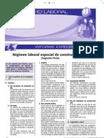 Régimen Laboral Especial de Construcción Civil - 2da Parte Informe Especial 2009 (caballero)