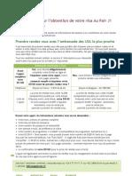 AuPairCare Fiche-Aide Visa J1 AuPair FR&BE - 2013