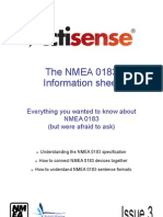 The NMEA 0183 Information Sheet