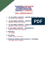 Verificari Sesiunea Iunie 2013 Anii i, II, III+ Master i, II (2)