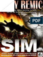 Andy Remic - SIM (Epub)