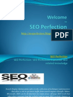 Welcome to SEO Perfection