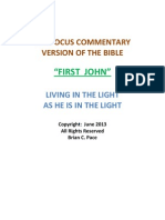 First John, The Focus Commentary Version of the Bible