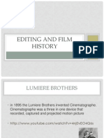 Editing and Film History