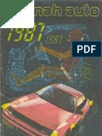 Almanah Auto 1987