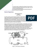 Deaerator principle & application