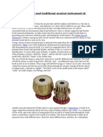 Tabla the ancient and traditional musical instrument of India.docx