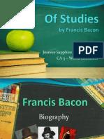 Of Studies report presentation