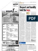 TheSun 2009-05-04 Page10 Respect and Humility Hold the Keys