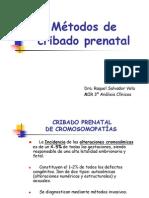 7.- Cribado Prenatal