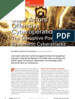State Cyberattacks