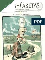 Caras y caretas (Buenos Aires). 15-6-1901, n.º 141AILE INFANTIL MEJORAMIENTO RACIAL