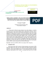 Simulation, Control and Analysis of Hts Resistive and Power Electronic Fcl