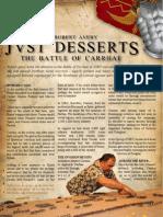 Just Desserts Carrhae