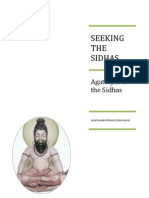 Seeking the Sidhas - Part 1 - Agathiyar