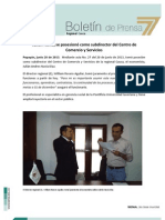 Boletin Subdirector Comercio