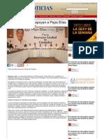 20-06-2013 Diputados del PRI apoyan a Pepe Elías