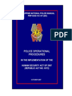 POP on Human Security Act