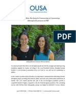 Guest Blog- How the Queen's Community is Connecting Aboriginal Learners to PSE - Blog