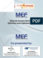 IIR Ethernet Access Services Definition Implementation