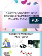 Current Development in the Diagnosis of Parasitic Infection 19 04 2013