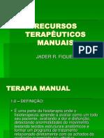 RECURSOS TERAPÊUTICOS MANUAIS - introdução