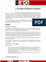 III Bienal Regional Fronteriza