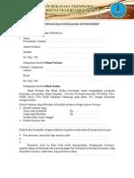 Surat Perjanjian Kerjasama Sponsorship