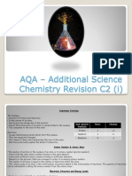 Additional Science - Chemistry