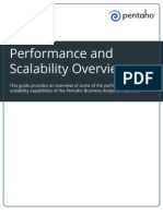 Pentaho Performance and Scalability Overview