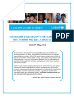 A call to action to put children at the centre of sustainable development