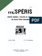 HESPÉRIS TOME XLVI-1959