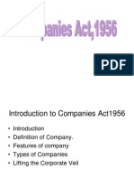Various Types of Companies Under Companies Act, 1956-11