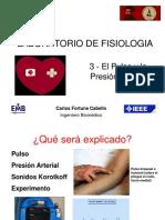3 - Pulso y Presión arterial