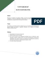 Contabilidad Banco Estudiantil