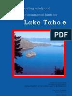 LakeTahoe Boating