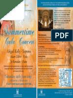 Summer Gala Concert in aid of Diabetic Diva