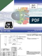 JMC 80x25 DC Fan