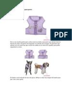 Patrones de Chaleco Para Perro