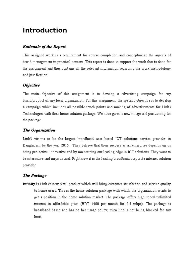 Main Report | Wi Max | Internet