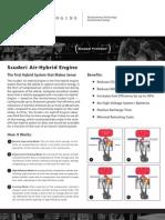Scuderi Air Hybrid Fact Sheet