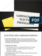 Campaign and Election Propaganda