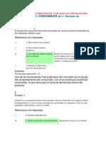 PSICOLOGIA DEL CONSUMIDOR  CON EVALUACIÓN NACIONAL PSICOLOGIA DEL CONSUMIDOR Act 1