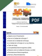 Definiciones y Terminologia de Calidad de Energia Electrica (Presentacion)