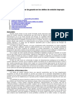 Fuentes Del Deber Garante Delitos Omision Impropia
