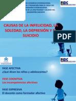 CAUSAS DE LA INFELICIDAD, SOLEDAD, DEPRESIÓN Y SUICIDIO