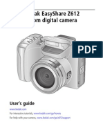 Kodak EasyShare Z612 Camera User Guide